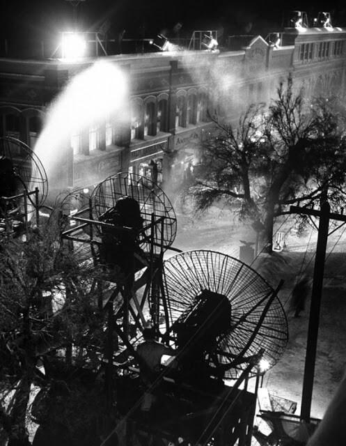 Bedford Falls - scnografia towspaniałe życie