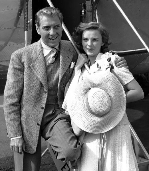 Judy ipierwszy mąż - David Rose