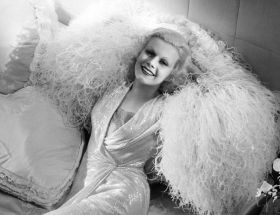 Jean Harlow - wamp hollywood w kolorze blond