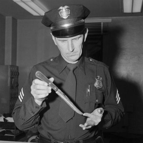 Nóż, którymzostał zabity Johnny Stompanato