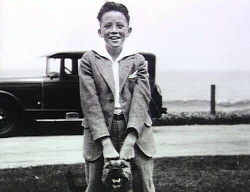 Młody Gregory Peck