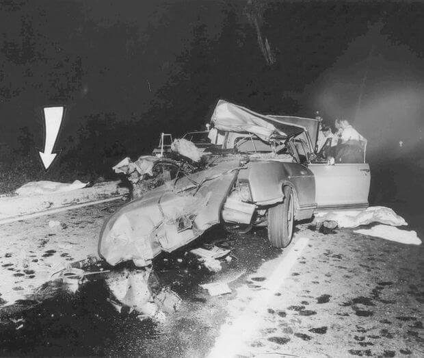 Wypadek Jayne Mansfield