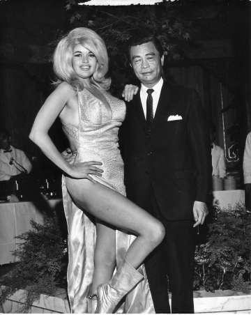 Jayne Mansfield nafestiwalu filmowym wSan Francisco, 1966