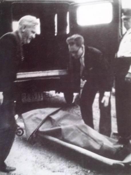 Ciało Paula Berna