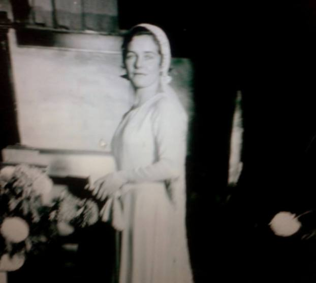 Dorothy Millette - zdjęcie ślubne