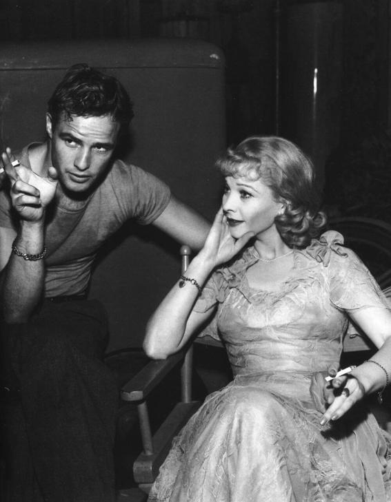 """Marlon Brando iVivien Leigh naplanie filmowej wersji """"Tramwaj zwany pożądaniem"""""""