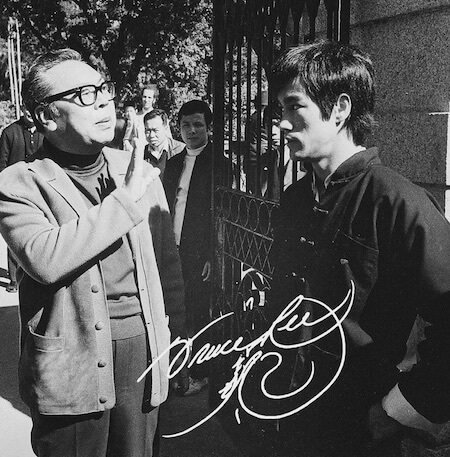 Bruce ireżyser Lo Wei