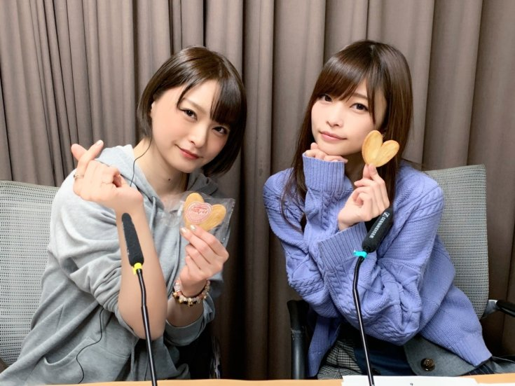Izawa Shiori & Tachibana Rika dalam Radio NolSol