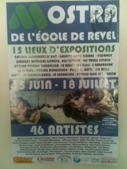 Affiche // Poster - Installation « Réduction #2 » Revel 2010