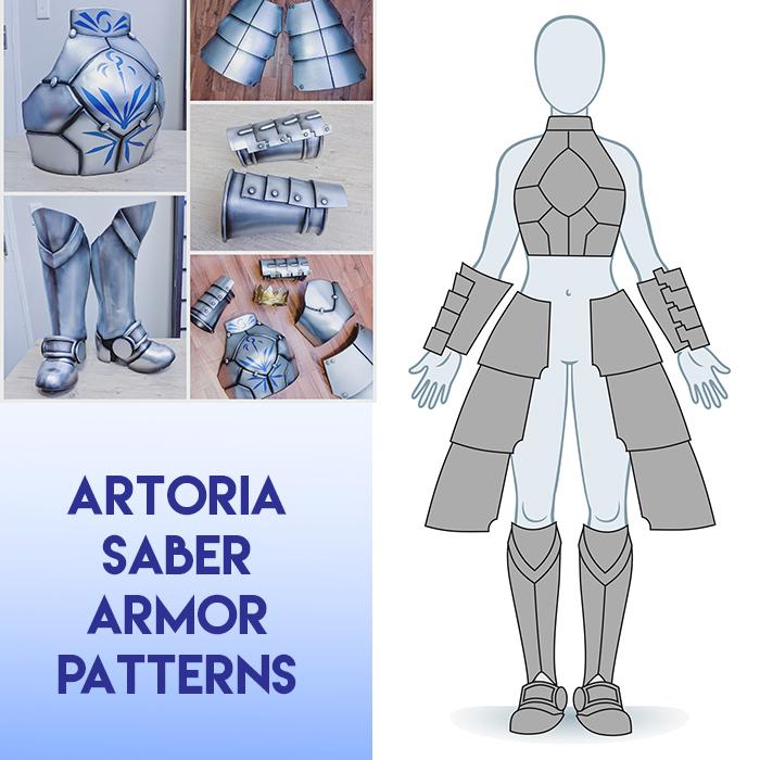 Artoria Saber Armor Patterns Pdf