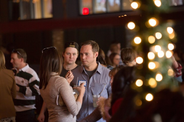 corporate holiday party, corporate event, denver holiday party photographer, event holiday photographer