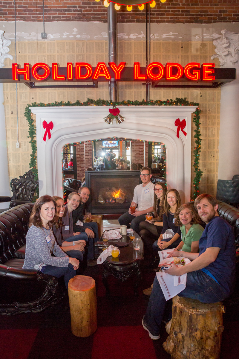 holiday lodge, corporate holiday party, corporate event, denver holiday party photographer, event holiday photographer, holiday party at denver restaurant