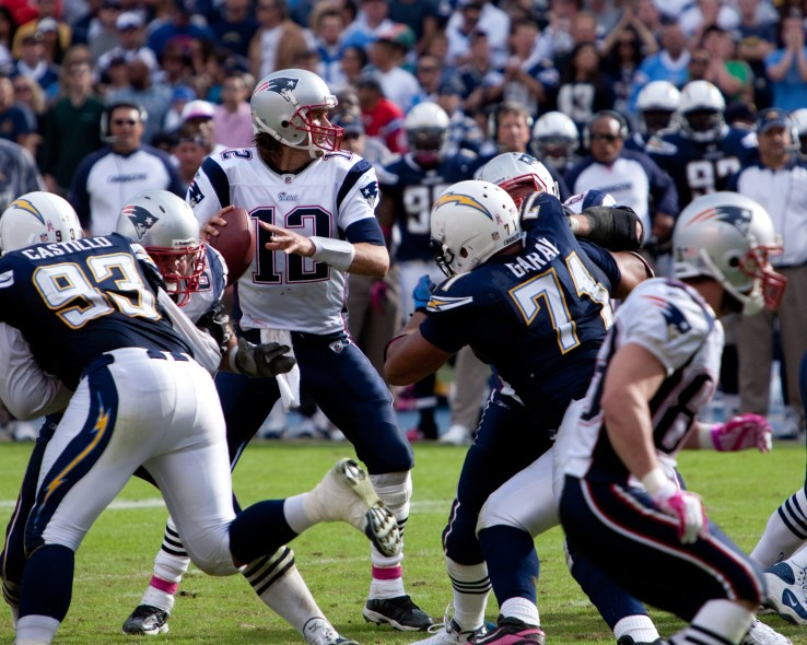 Tom Brady and Patriots @ Chargers