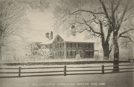 Lawrence Homestead Groton Winter 1888