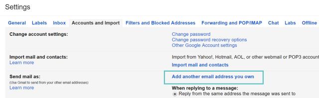 add custom domain gmail