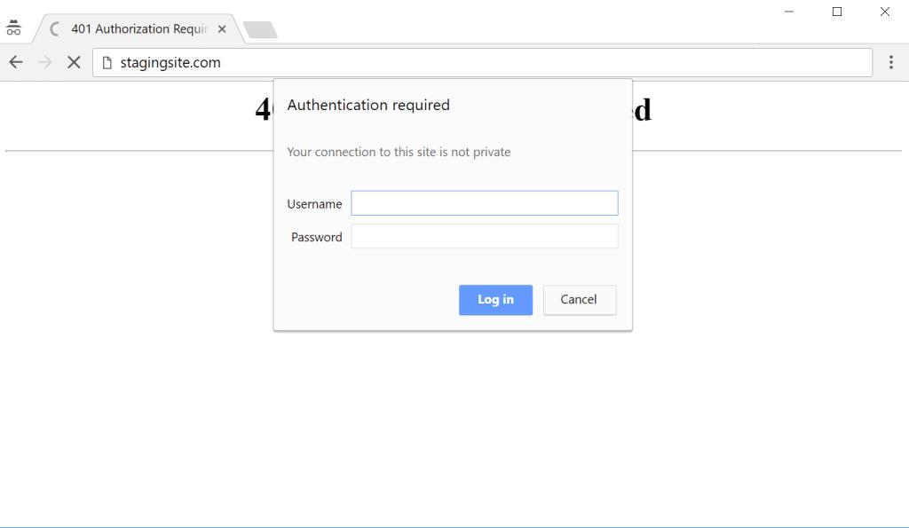 Autenticación HTTP básica