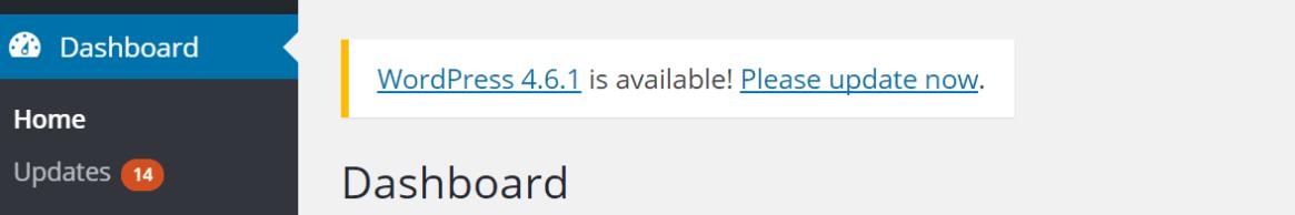 mantener wordpress actualizado