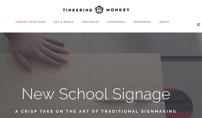 tinkering monkey wordpress sites