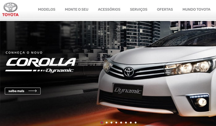 toyota wordpress sites