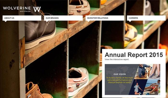 wolverine worldwide wordpress sites
