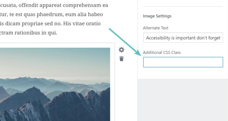 Tambahkan kelas CSS