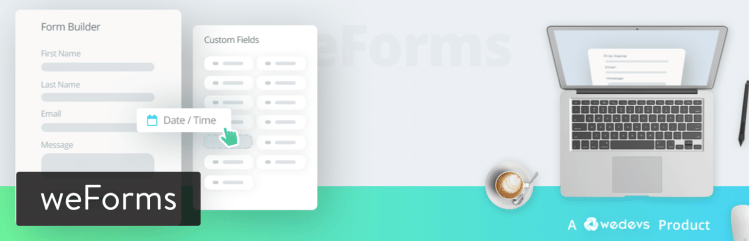 weForms WordPress plugin best contact forms plugin for WordPress