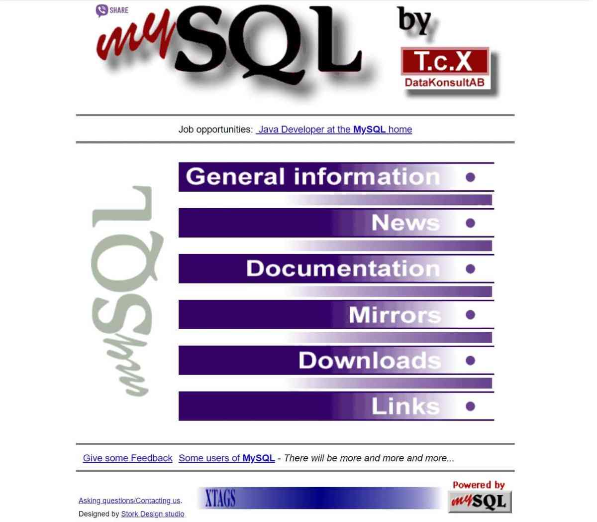 MariaDB vs MySQL: MySQL-old-page