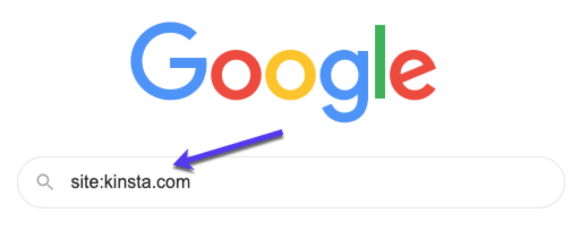 How to perform a site search in Google