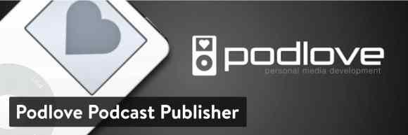 WordPress podcast: Podlove Podcast Publisher