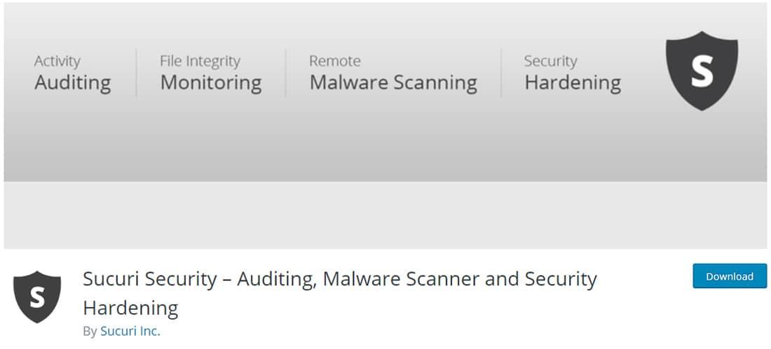 Ulasan Mengenai Plugin Keamanan WordPress Sucuri.