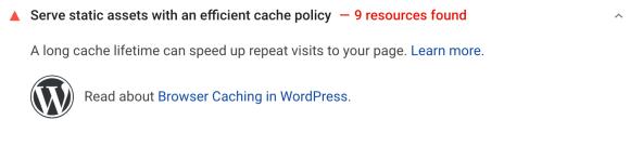 efficient cache policies