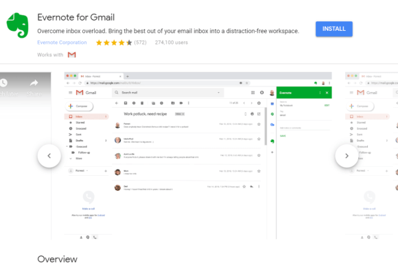 evernote for gmail 1
