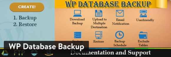 WP Database Backup WordPress plugin