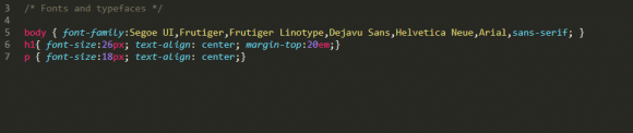 edit font family stylesheet