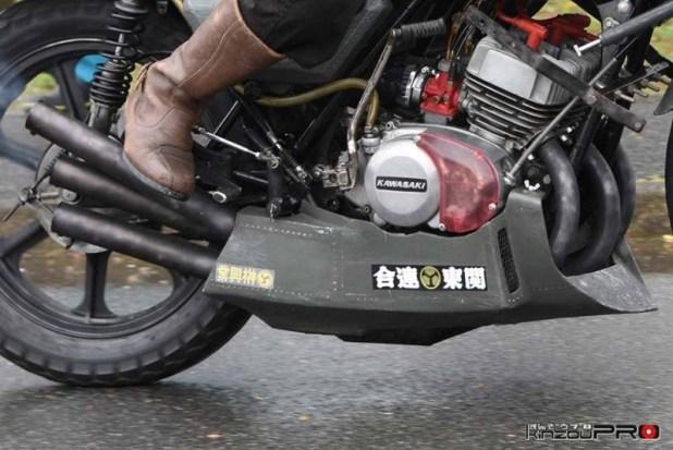 関東連合榊興業の川崎重工750SSマッハIV (H2)これが日本の不良カフェレーサー!! 2