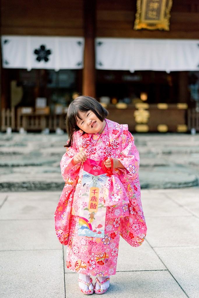 七五三at桜木神社