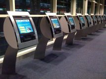 Frontier Airlines Check-In Kiosks