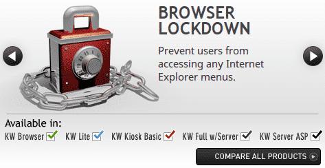 KioWare Lockdown Browser