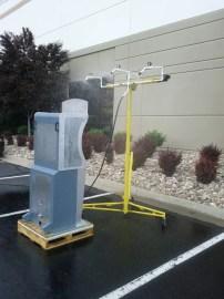 outdoor kiosk testing