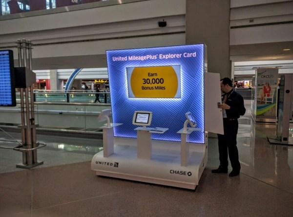 RMU Kiosk Cart News Airport