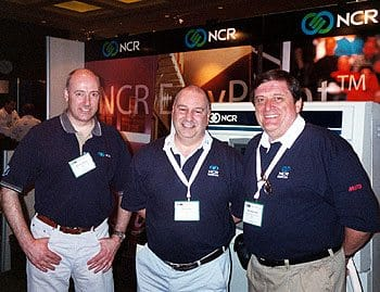 In the photo is Morrison Reyner, Mark Grossi and Bob Sutherland by the way.