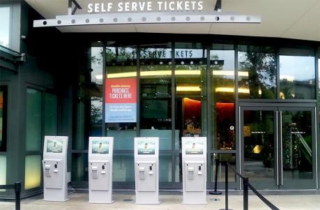 Outdoor Ticketing Kiosk by Olea Kiosks