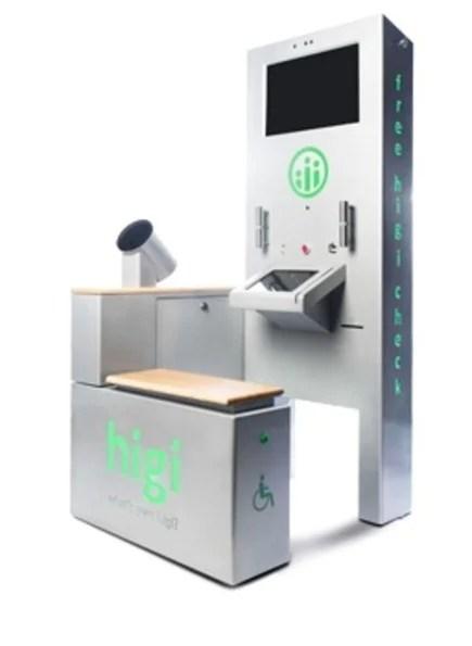 health screening kiosk