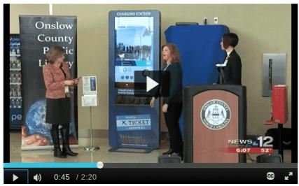 digital library kiosk