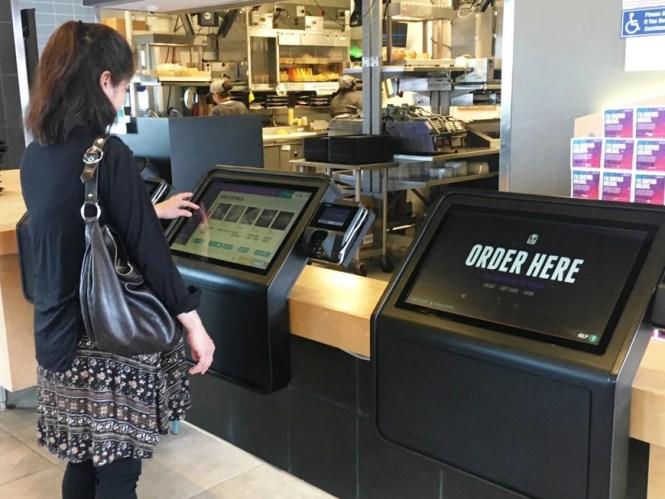 Taco Bell says self-serve ordering kiosks