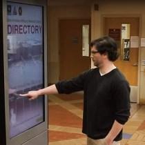 Interactive Wayfinding Kiosk