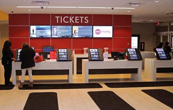 AMC Theater Ticketing Kiosks