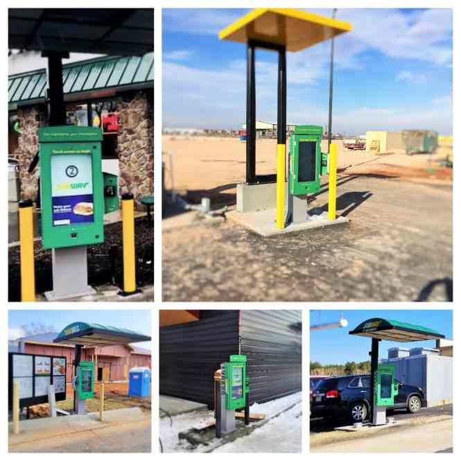 drive thru kiosk solutions