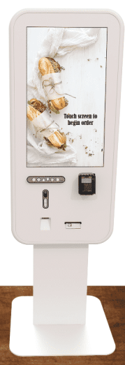 self-service order kiosk for mcdonalds
