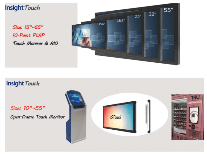 insight touchscreen products